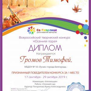 Громов Тимофей
